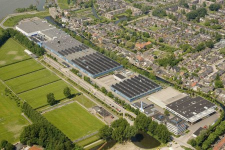 GKN Aerostructures in Papendrecht, the Netherlands